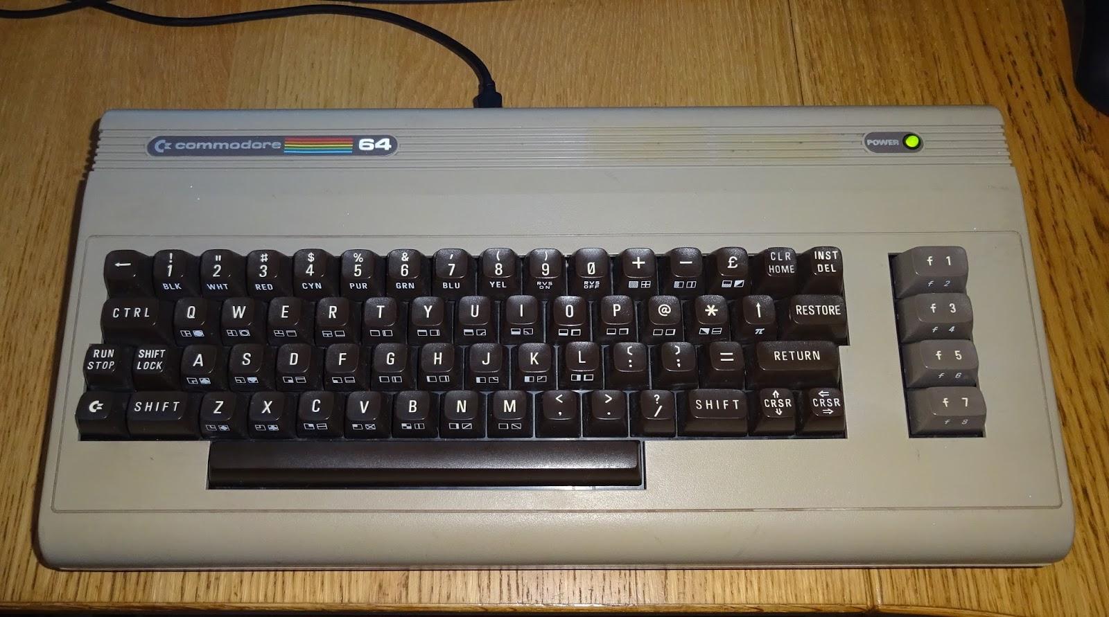 Commodore 64 C64 Computer Keyboard