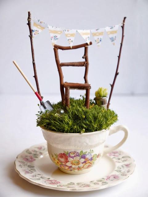 2 Fabulous DIY Mini Fairy Gardens - DIY Craft Projects