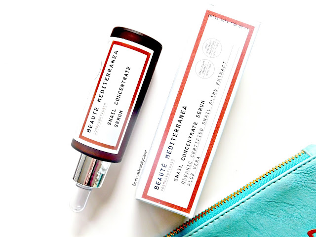 Beaute Mediterranea Snail Concentrate Serum review, Skincare Serum for Acne Prone Skin
