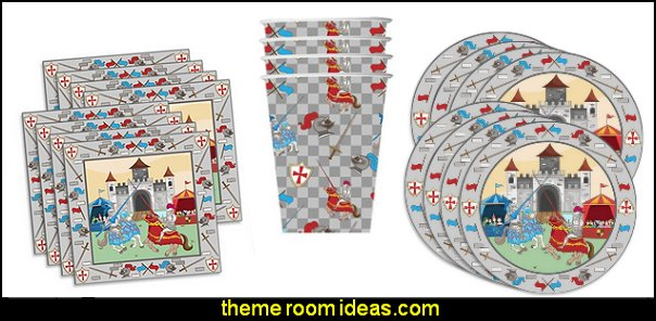 Medieval Knight Castle Birthday Party Supplies