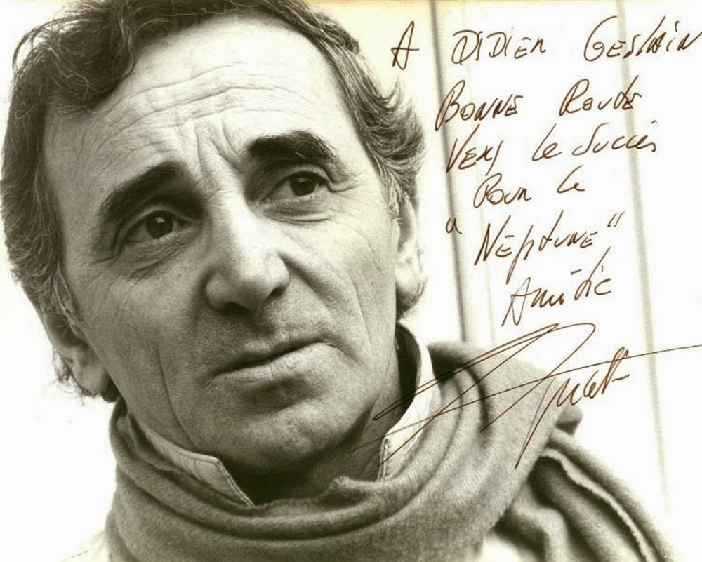 2 On the Aisle: Broadway at its Best: Charles Aznavour   the