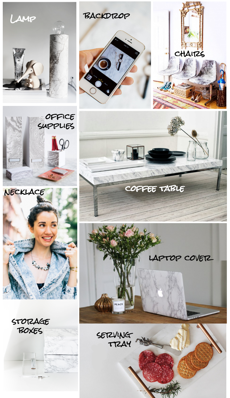 16 DIY marble-izing tutorials for your and your home! #GlitterAndBowBlog