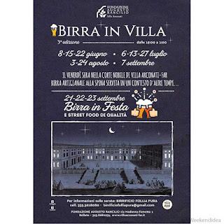 Birra in Festa e Street Food di qualità 21-22-23 settembre Castellazzo (MI)