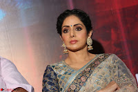 Sri Devi in designer saree stunning beauty at the launch of MOM movie Trailer~  Exclusive 103.JPG