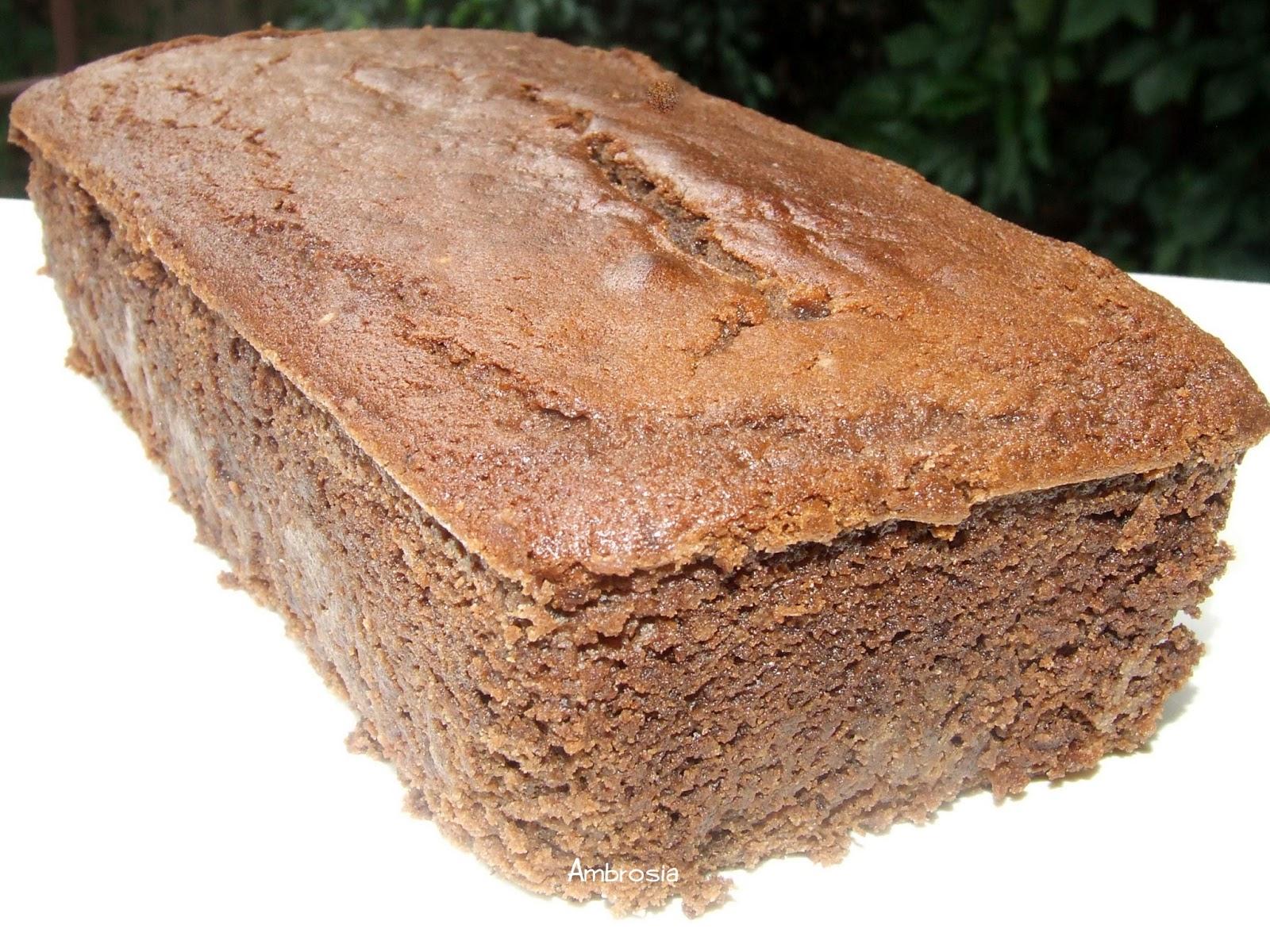 Low Fat Cake Recipes With Yogurt Uk: LOW FAT CHOCOLATE YOGURT CAKE