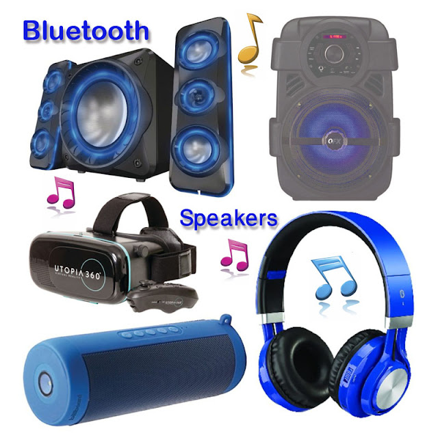 Music with Wireless Bluetooth Speakers