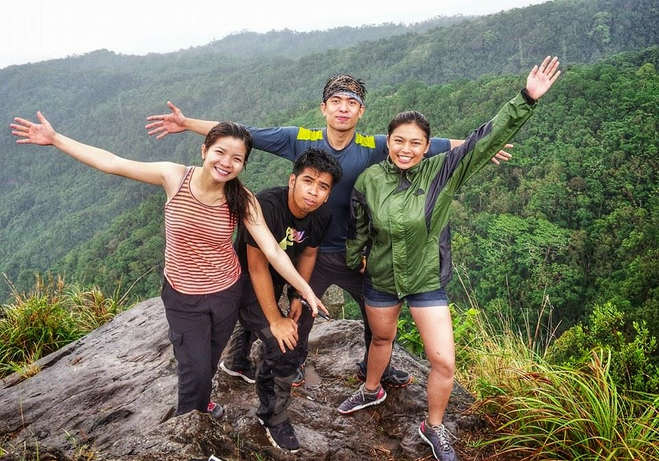 at Mt. Maculot Rockies