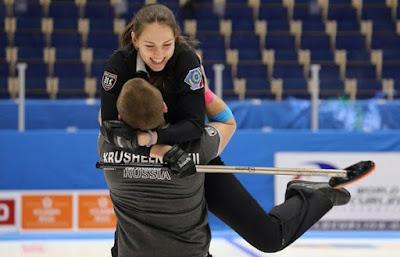 CURLING - Mundial dobles mixto 2016 (Karlstad, Suecia): la pareja rusa batió a China y se colgó el oro