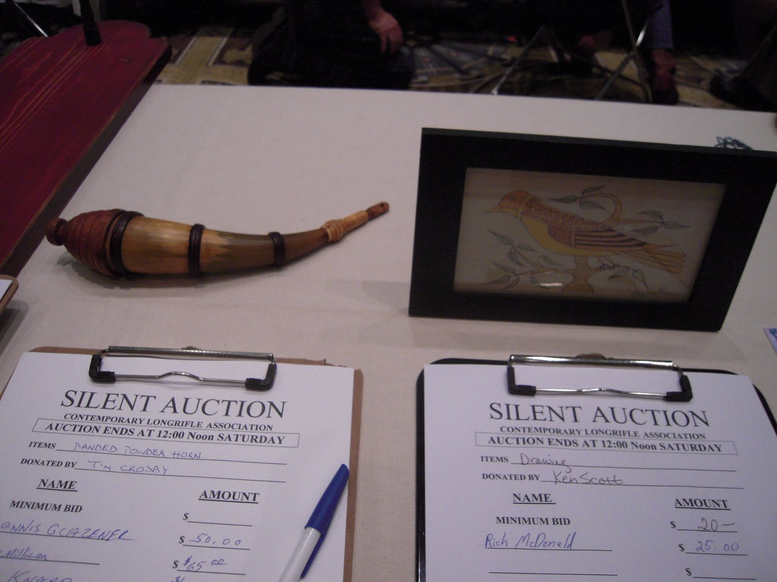 Contemporary Makers: CLA Show 2011: Silent Auction Photos