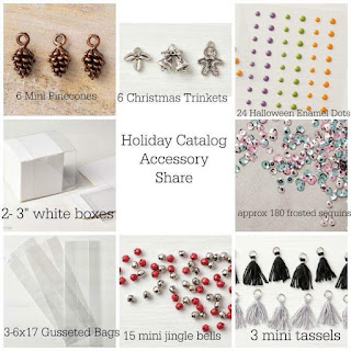 All items in the holiday accessory share