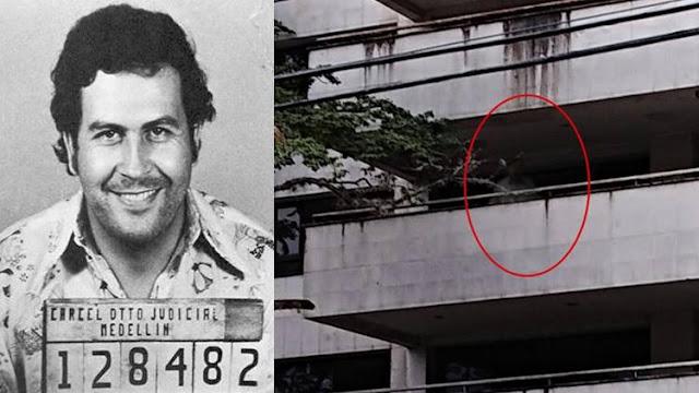 Aterra en la web supuesto fantasma de Pablo Escobar en edificio