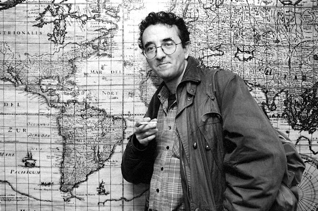 Roberto Bolaño em 1997 - Foto de Manolo S. Urbano