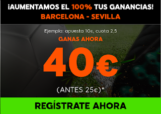 888sport aumento 100% beneficios Barcelona vs Sevilla