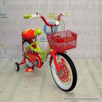 16 Inch United My Music Girls Bike Yellow Orange