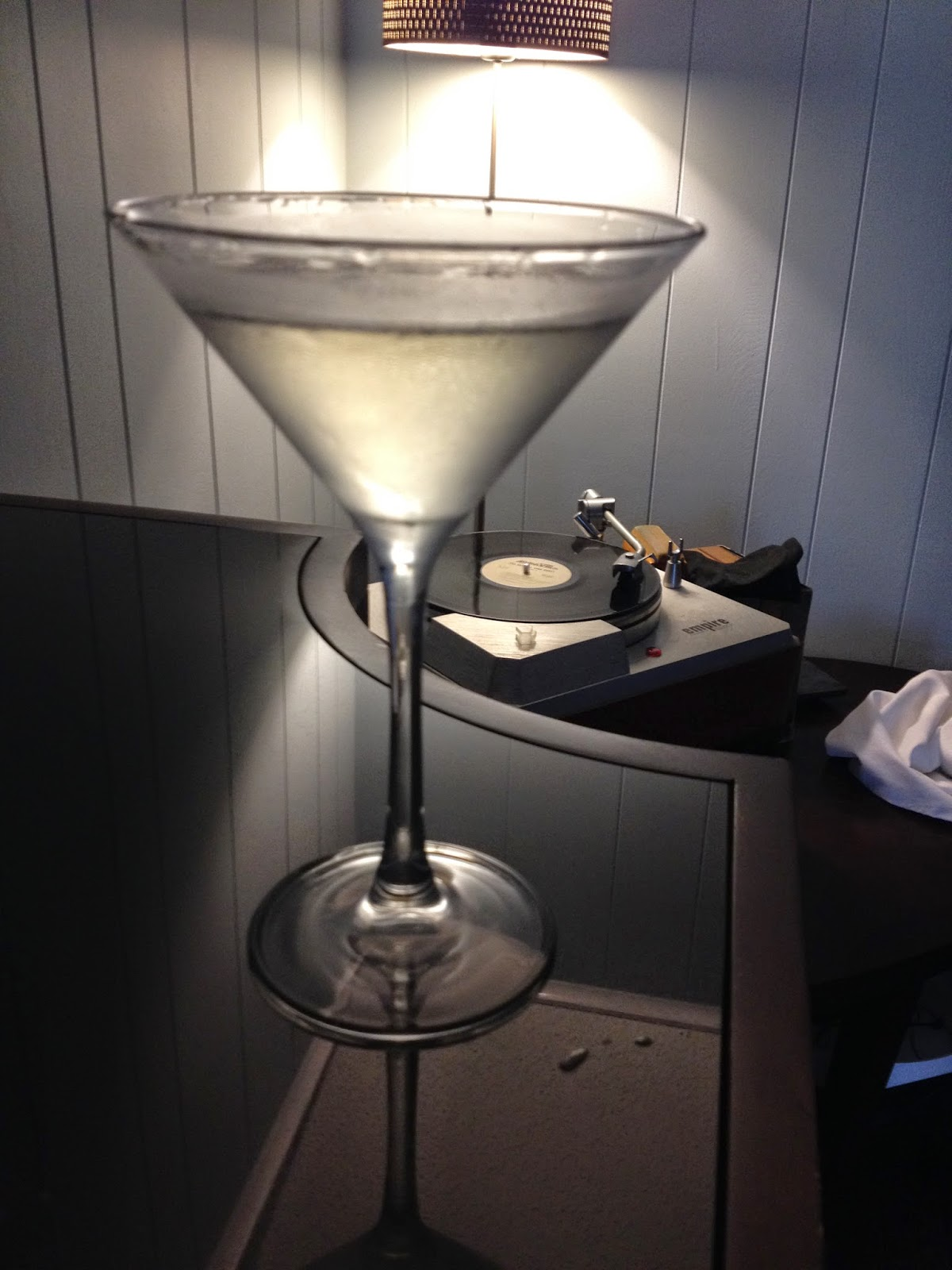 Cocktail recipe: A Pastis Martini.