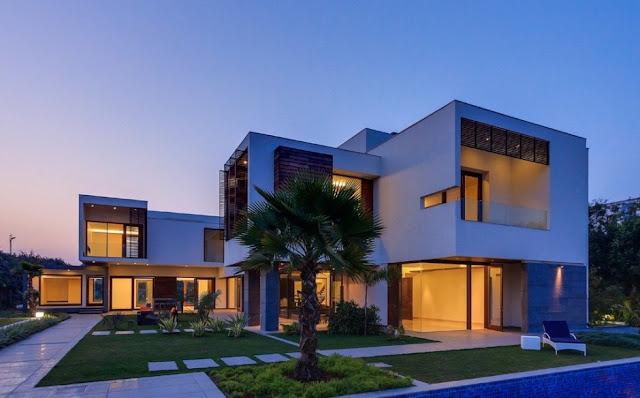 Diseno de casa exteriores e interiores por dada partners - Diseno exterior de casas ...
