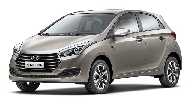 Hyundai HB20 1 Million