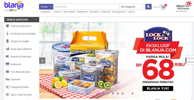 cara mudah berbelanja online di Blanja.com