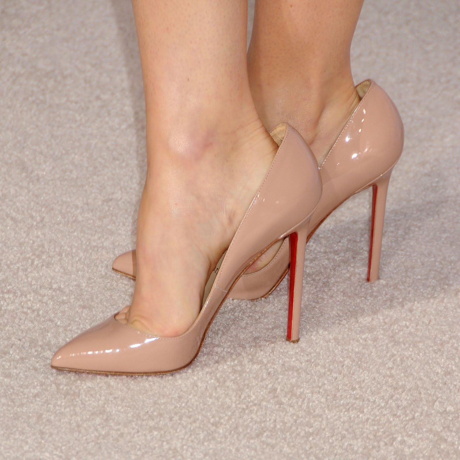 High Heel Shoe Toe Cleavage