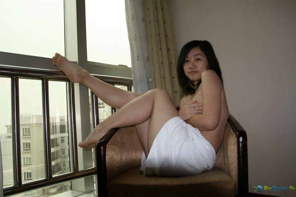 Blonde in stockings and heels