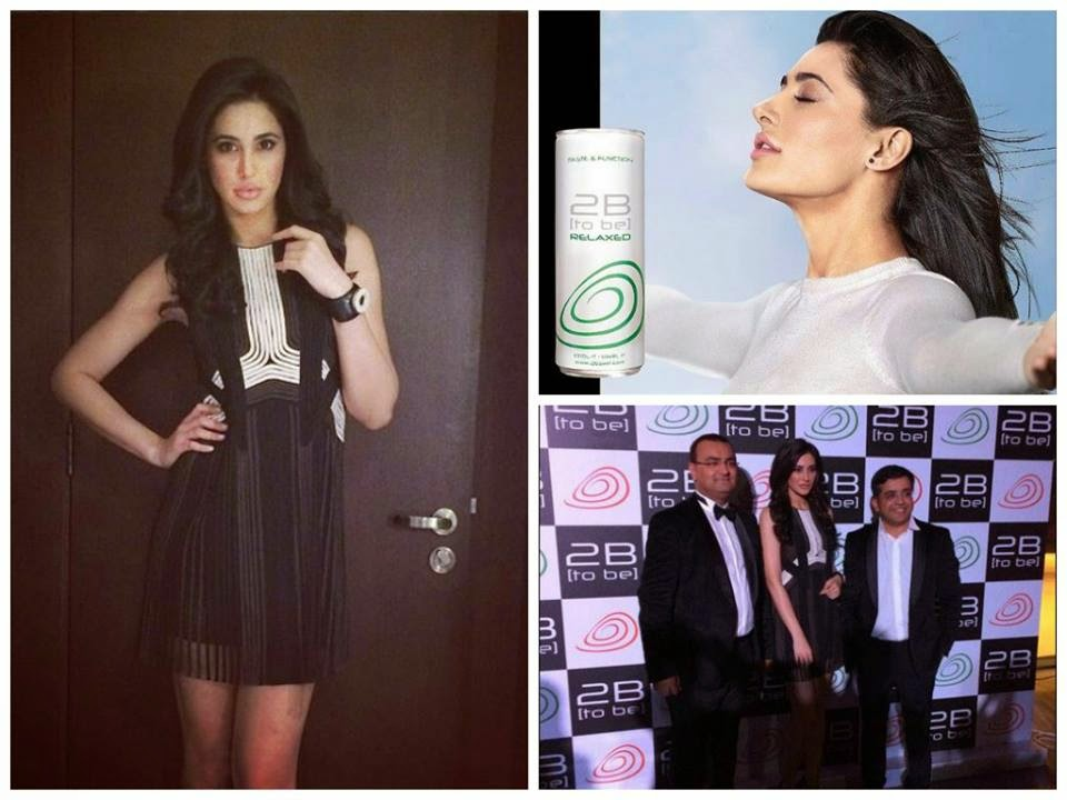 Hot Nargis Fakhri attended the launch of 2B Swirl Drink in Dubai