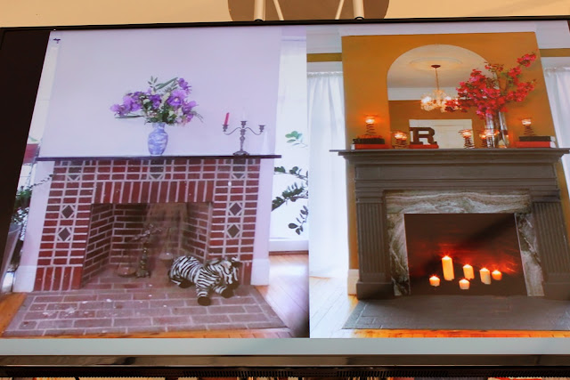 how to add a wooden mantle to a fireplace