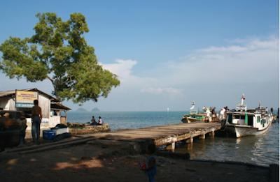 Perjalanan Menuju Objek Wisata Gunung Krakatau Lampung Selatan