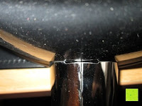 Griff unten: TV Unser Original 08832 Bratoni Geschmiedete Aluminium-Hochrandpfanne mit Hitzekontrolle, 28 cm