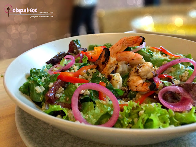 Shrimp Kale Bowl from Sunnies Cafe
