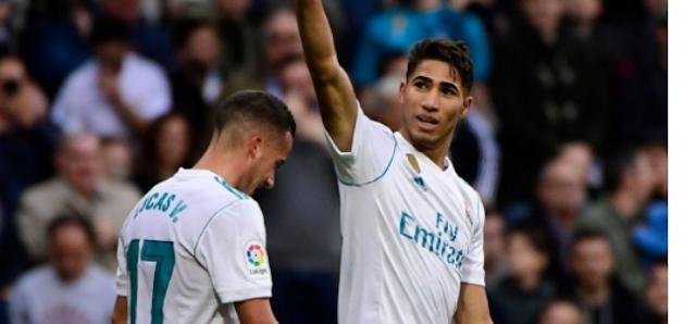 AGEN BOLA - Achraf Hakimi Catatkan Sejarah Baru di Real Madrid