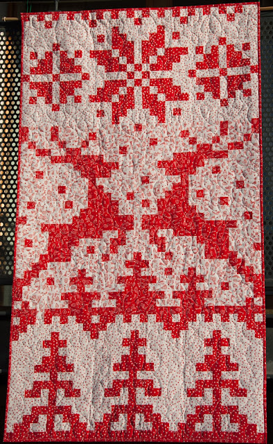 Nordic Christmas quilt