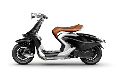 Yamaha 04Gen Concept Scooter left side image