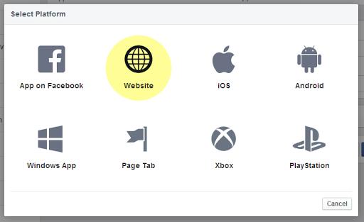 Creating Facebook App