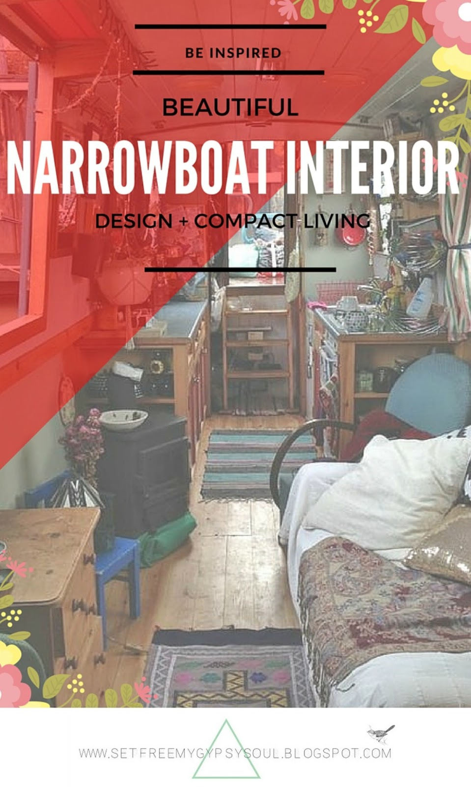 interior design narrowboat houseboat compact living