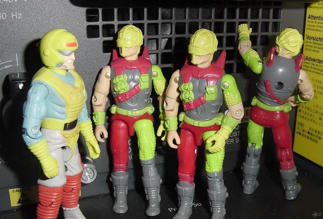1993 Cyber Viper, Mega Marines, Corrosao, Estrela, Forca Eco, Eco Warriors, Brazil, 1994 Viper
