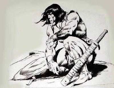 Conan por J.Buscema. Kaa nama kaa lajerama