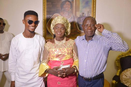 Photos: Comedian I Go Dye presents his mother the house he built for her