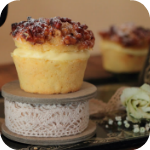 Bienenstich Walnuss -Pecan Cupcakes
