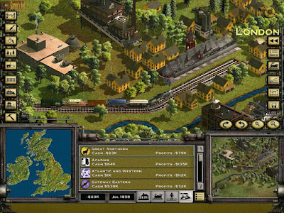 Railroad Tycoon 2 PC Free Full Version