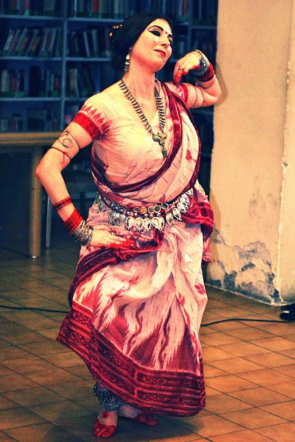 roma odissi bharata natyam