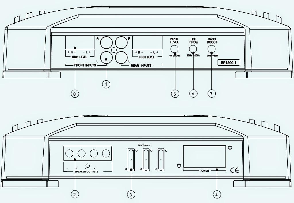1200 goldwing wiring diagram for wiring diagram - jbl bp1200.1 1 channel power amplifier ... #1
