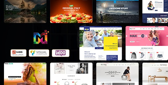 Maximum Multi-Purpose Responsive WordPress Themes
