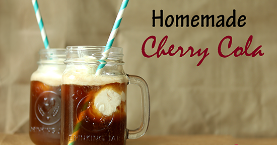 Wilde in the Kitchen: J@H - Homemade Cherry Cola