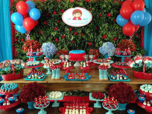 Resultado de imagem para tema aniversario 1 ano blog chapeuzinho vermelho