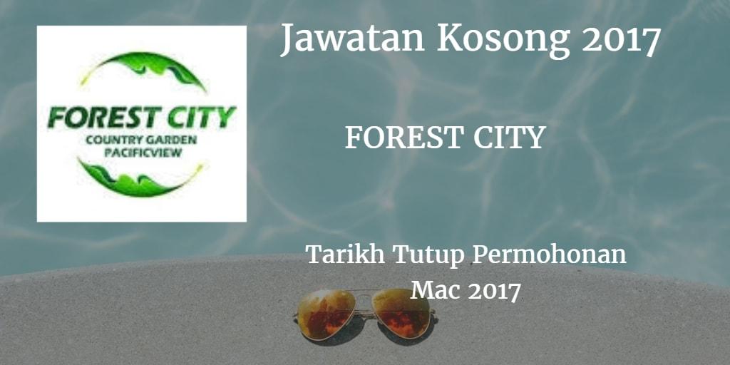 Jawatan Kosong FOREST CITY Mac 2017
