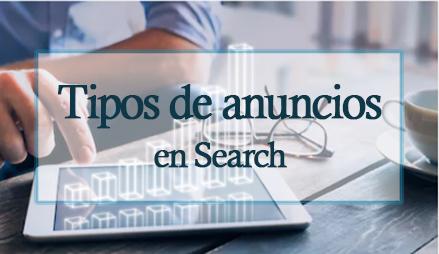 Tipos de anuncios en search