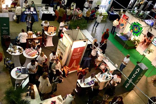 Ayurvedaa Joogafestivaleilla 2018 - Ayurveda in Joogafestival, Helsinki, 2018