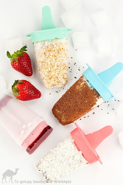 Domowe lody jogurtowe bez maszyny