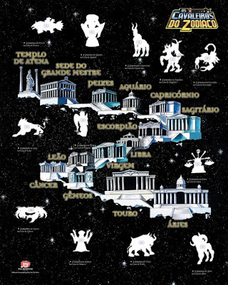 Cavaleiros do Zodiaco - Editora Panini mostra Poster do novo album