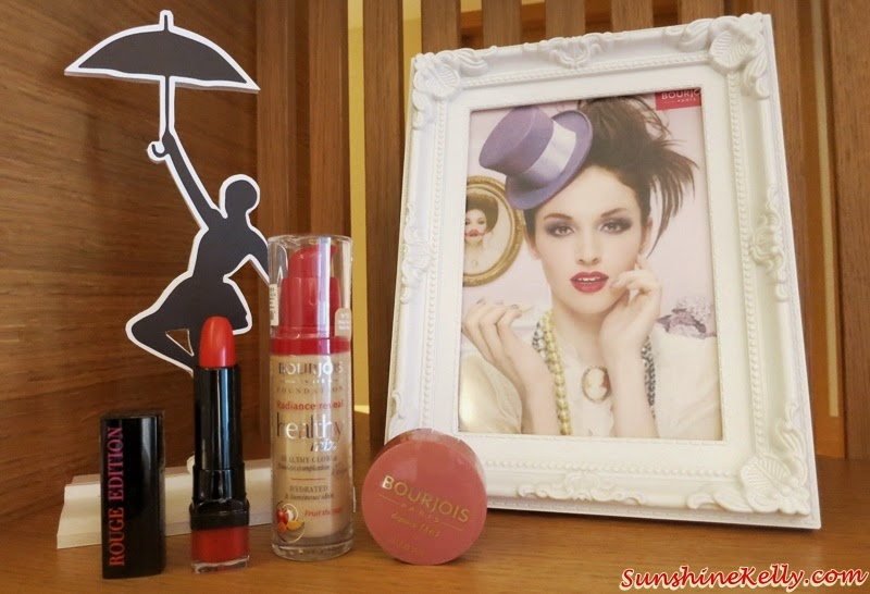Applying Makeup Is a Joy with Bourjois, Rouge Edition Lipstick, Healthy Mix Foundation, Little Round Pot Blush, Bourjois Malaysia, French Makeup